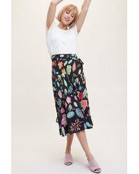Bl-nk Jupe portefeuille imprimée Tamara - Multicolore