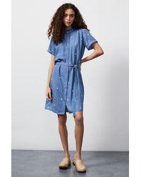 FABIENNE CHAPOT Boyfriend Indie Mini Dress - Blue