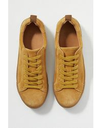 SELECTED - Donna Suede Trainers - Lyst