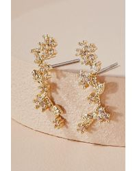 Anthropologie - Wisteria Climber Earrings - Lyst