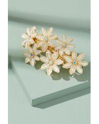 Anthropologie - Embellished-floral Barette - Lyst