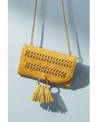 Anthropologie - Stitched Crossbody Bag - Lyst