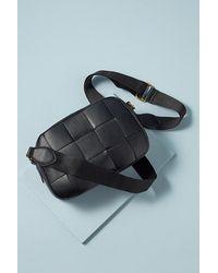 Anthropologie Woven Cross-body Bag - Black