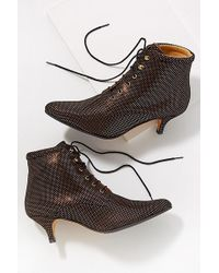 Emma Go - Textured-leather Ankle Boots - Lyst