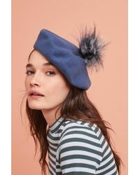 Helen Moore | Frenchie Pom Beret | Lyst
