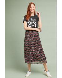 Ranna Gill - Pattern Stripe Skirt - Lyst