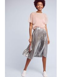 Seen, Worn, Kept - Daphne Pleated Skirt - Lyst