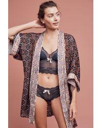 Lilka - Sleep-in Sunday Kimono Robe - Lyst