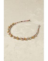Anthropologie Mae Gilded Headband - Metallic