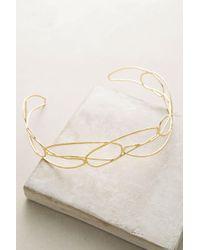Anthropologie Ondine Headband - Metallic