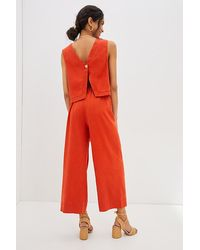 Maeve Carmiel Co-ord Set - Orange