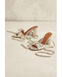 Hudson Jeans - Fiji Metallic Heels - Lyst
