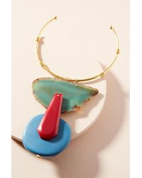 Katerina Psoma - Agate Stone Collar Necklace - Lyst