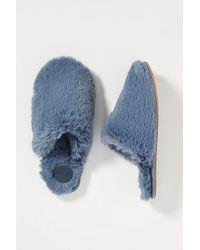Anthropologie Sadie Slippers - Blue