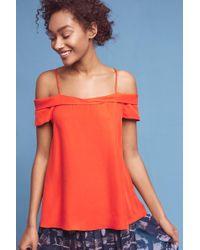 Paper Crown - Cerise Open-shoulder Blouse - Lyst