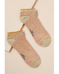 Becksöndergaard Dollie Polka-dot Ankle Socks - Red