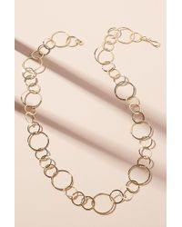 Anthropologie - Adelixa Circle Link Necklace - Lyst