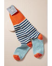 Anthropologie - Striped-wool Socks - Lyst