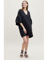 Anthropologie - Beaumont Organic Annina Bell-sleeve Linen Dress - Lyst