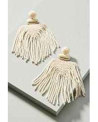 Anthropologie - Lima Beaded Drop Earrings - Lyst