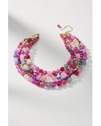 Anthropologie - Bernice Layered Necklace - Lyst