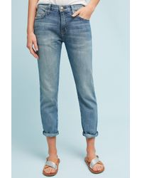 Current/Elliott - The Fling Mid-rise Relaxed Ankle Jeans - Lyst