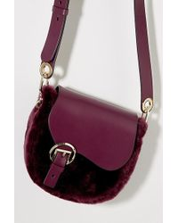 Liebeskind - Leather-trimmed Crossbody Bag - Lyst