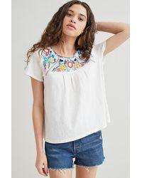 Kirei Embroidered T-shirt - White