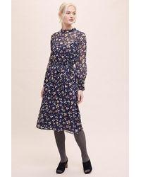 Second Female - Claire Midi Dress - Lyst