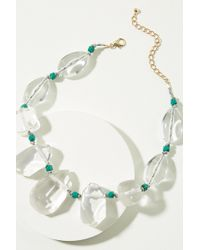 Anthropologie - Unna Pebble Necklace - Lyst