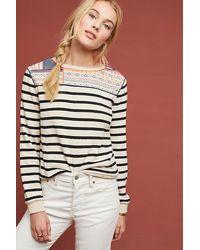 Maeve Finn Striped Sweatshirt - Multicolour