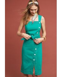 24e9e80c1762 Anthropologie. Maeve - Elizabeth Button-front Dress - Lyst
