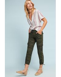 Sanctuary - Terrain Camo Utility Cropped Trousers - Lyst