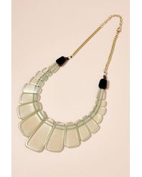 Anthropologie - Gemina Resin Necklace - Lyst
