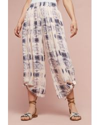 Elevenses - Dahlia Wide-leg Trousers, Ivory - Lyst