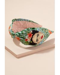 Anthropologie - Floral Embroidered Headband - Lyst