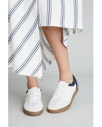 Anthropologie Frieda Leather Trainers - White
