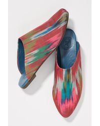 Penelope Chilvers - Babouche Ikat Slides - Lyst