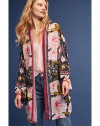 Bl-nk Scarlett Peony Kimono - Multicolour
