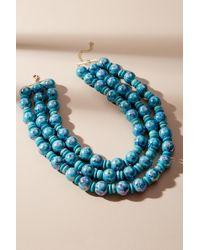 Anthropologie - Jasmine Multi-strand Bead Necklace - Lyst