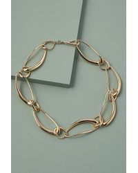 Anthropologie Trish Chunky-chain Necklace - Metallic