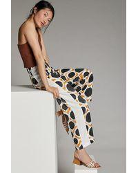 Maeve Wellesley Geo-print Trousers - Multicolour