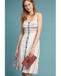 Hutch - Pastel Striped Dress - Lyst
