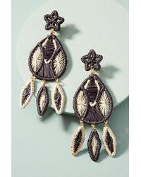 Mercedes Salazar - Woven Windchime Drop Earrings - Lyst