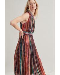 Bl-nk Nevranio Halter Neck Dress - Multicolour