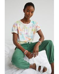 Maeve Love Tie-dye Graphic Tee - Multicolour