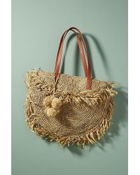 Anthropologie - Palm Springs Foldover Circle Tote - Lyst