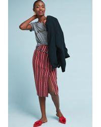 Eva Franco - Tweed Foldover Pencil Skirt - Lyst