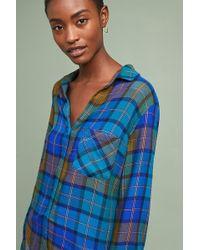 Cloth & Stone - Shoshone Plaid Shirt - Lyst
