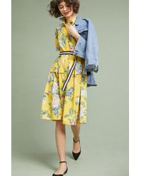 Donna Morgan - Sporty Floral Shirtdress - Lyst